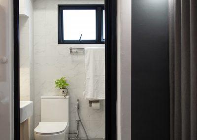 Master Bathroom Entrance