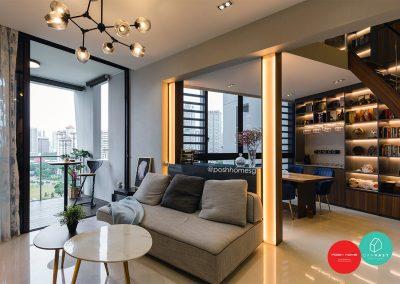 Living Room and Multi-purpose Beam
