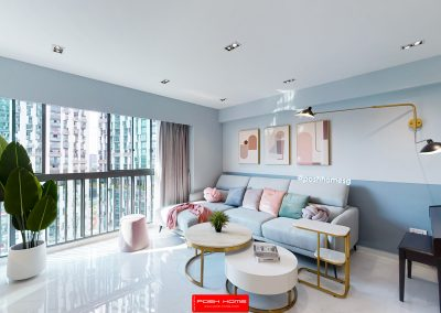 Pastel Chic Modern Contemporary